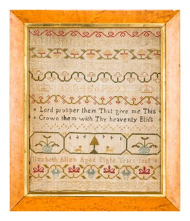 191125 Antique Cross Stitch Samplers 009 border