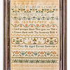 191125 Antique Cross Stitch Samplers 015 border