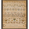 191125 Antique Cross Stitch Samplers 011-2 border