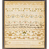 191125 Antique Cross Stitch Samplers 011 border