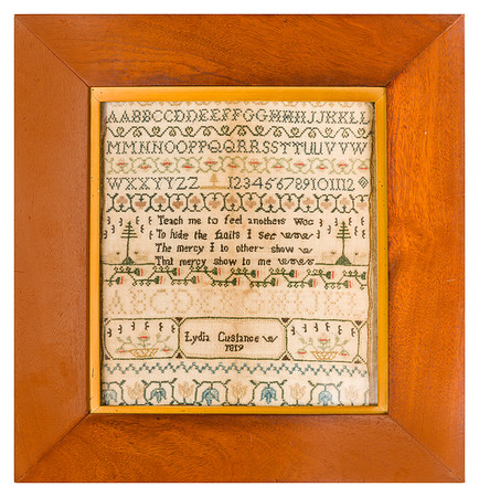 191125 Antique Cross Stitch Samplers 020 border