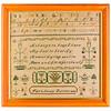 191125 Antique Cross Stitch Samplers 027 border
