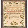 191125 Antique Cross Stitch Samplers 012 border
