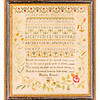 191125 Antique Cross Stitch Samplers 005 border