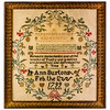 191125 Antique Cross Stitch Samplers 031-2 border