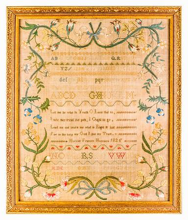191125 Antique Cross Stitch Samplers 025-2 border