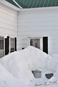 Snow covers over half of my windows!