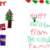 Isabella Cowan, granddaughter of Richard Finch<br /> Younger Division Christmas Card Entry