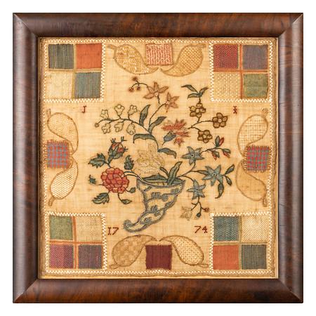 210224 Antique Cross Stitch Samplers 01 border