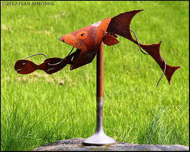 """YARD ART"", Wrangell,Alaska,USA."