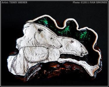 """YING & YANG"",artist Terry Sherer."