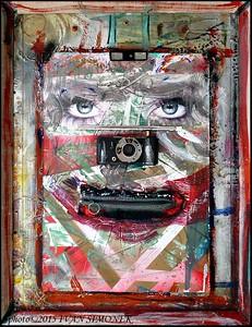 """""""ITALY 54"""",junk art."""