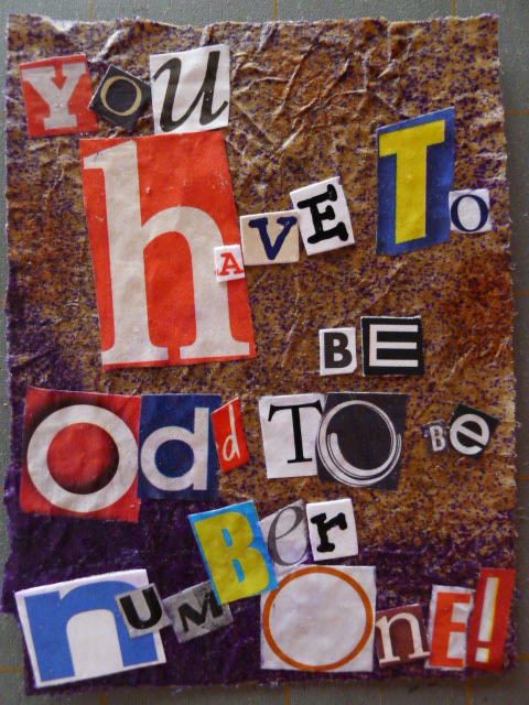 R is for RANSOM NOTE