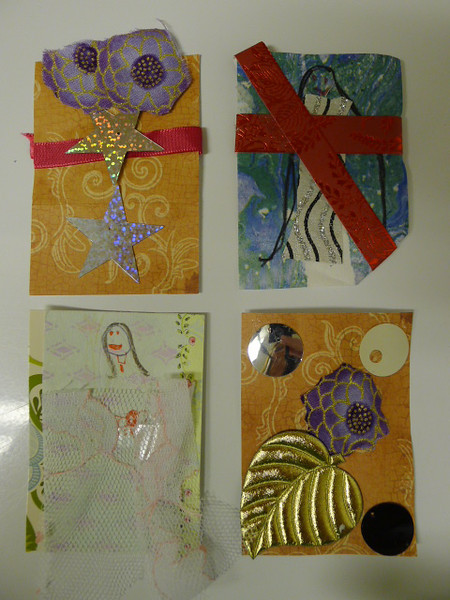 Lillian's ATCs March 2014