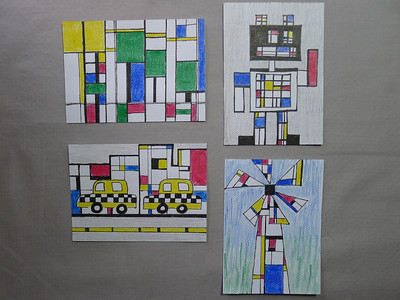 Mondrian with a twist