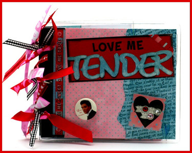Love Me Tender Acrylic Album