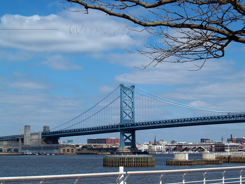 The Ben Franklin Bridge - Philadelphia, PA