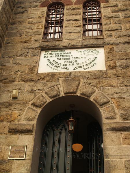Old prison in Jim Thorpe