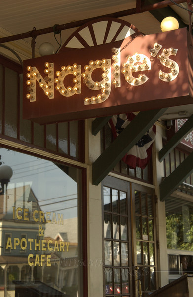 A favorite cafe in Ocean Grove, NJ - Nagle's (an old apothecary)
