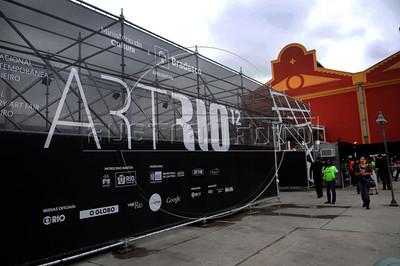 ArtRio, International Contemporary Art Fair of Rio de Janeiro, Rio de Janeiro, Brazil, September 13, 2012. (Austral Foto/Renzo Gostoli)