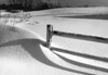 Winter in New England - a time of interesting shadows with black and white details.