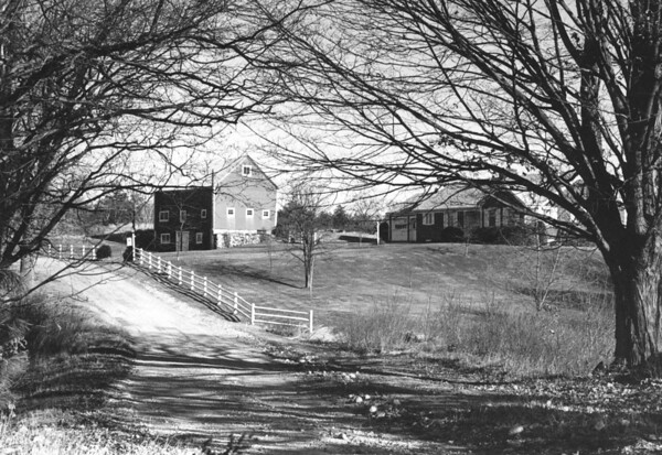The Garrigan Homestead in Westford MA. <br /> The fields and woods of this property have been preserved as part of the <br /> Westford Land Preservation Foundation, Inc.