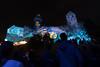"""Blaue Nacht 2017, """"... MIT ROSENFINGERN ERWACHT ..."""", Barbara Engelhard illuminiert die Kaiserburg"""