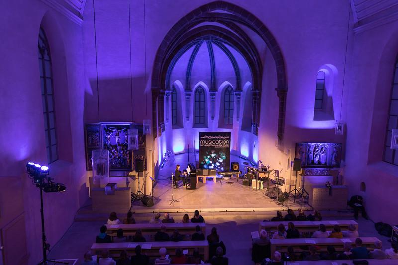 Blaue Nacht 2017, Offene Kirche St. Klara: