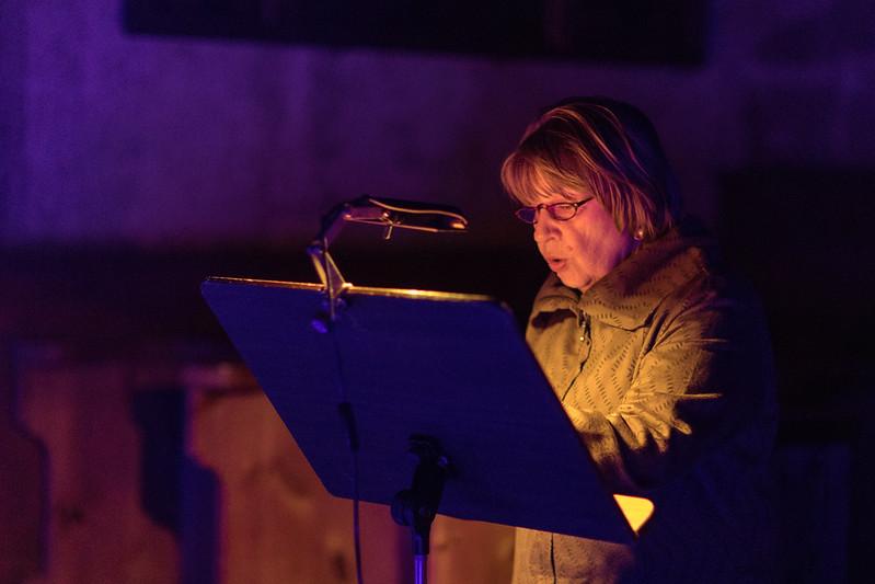 Blaue Nacht 2017, St. Lorenz: Oase der Stille: <br /> Durch die Nacht gelesen ... Bibel und Klänge im nächtlichen Blau