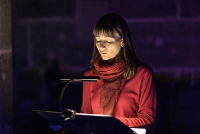 Blaue Nacht 2017, St. Lorenz: Oase der Stille:  Durch die Nacht gelesen ... Bibel und Klänge im nächtlichen Blau