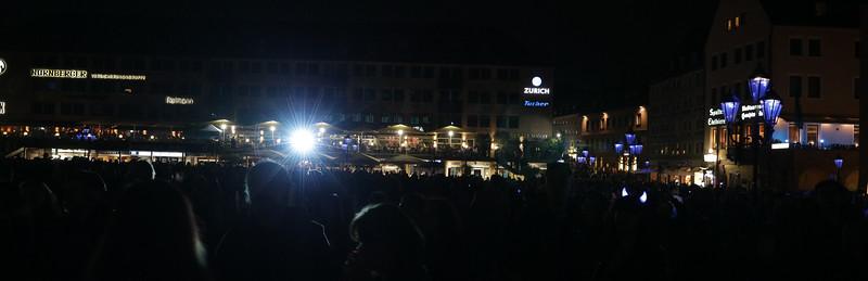 Blaue Nacht 2017, Hauptmarkt