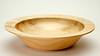 small Poplar bowl  7 1/4 diameter 1 3/4 high