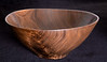 Walnut oblong bowl
