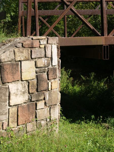Old canal footbridge