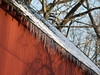 Icicles on Knecht's Bridge, Bucks County PA