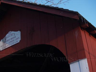 Close-up of Knecht's Bridge