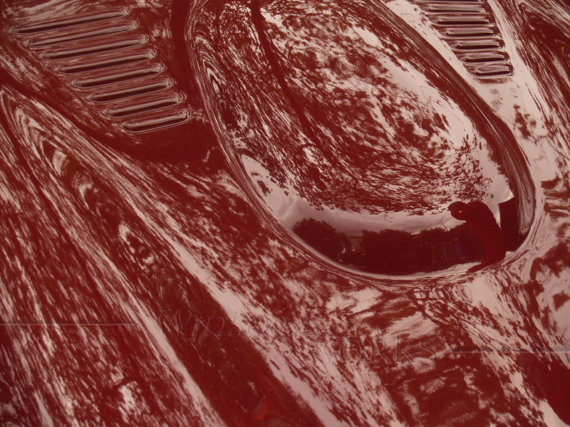 1964 Griffith (TVR) 200 Closeup with reflections