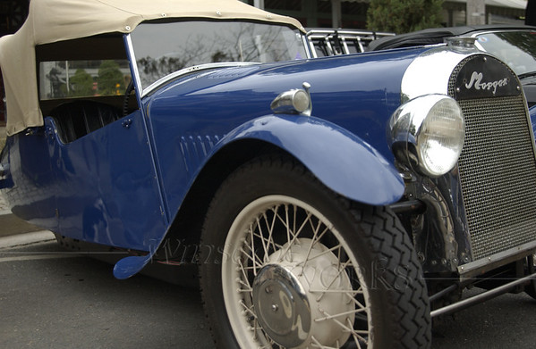1948 Blue Morgan 3-Wheeler