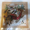 sleigh ride   by  Mill Hill finished  May