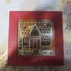 Gingerbread  house  by Mill Hill finished May