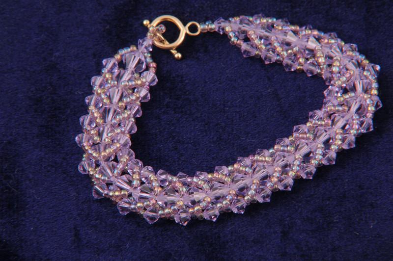 Crystal Violet Bracelet