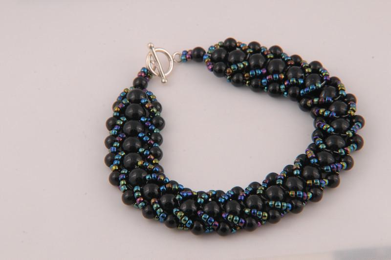 Obsidian Crystal Bracelet