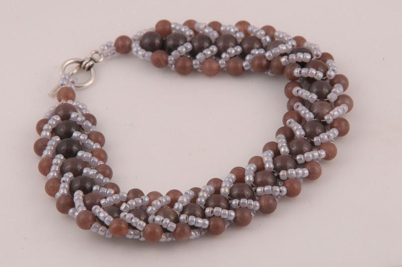 Purple Adventurine Crystal Bracelet