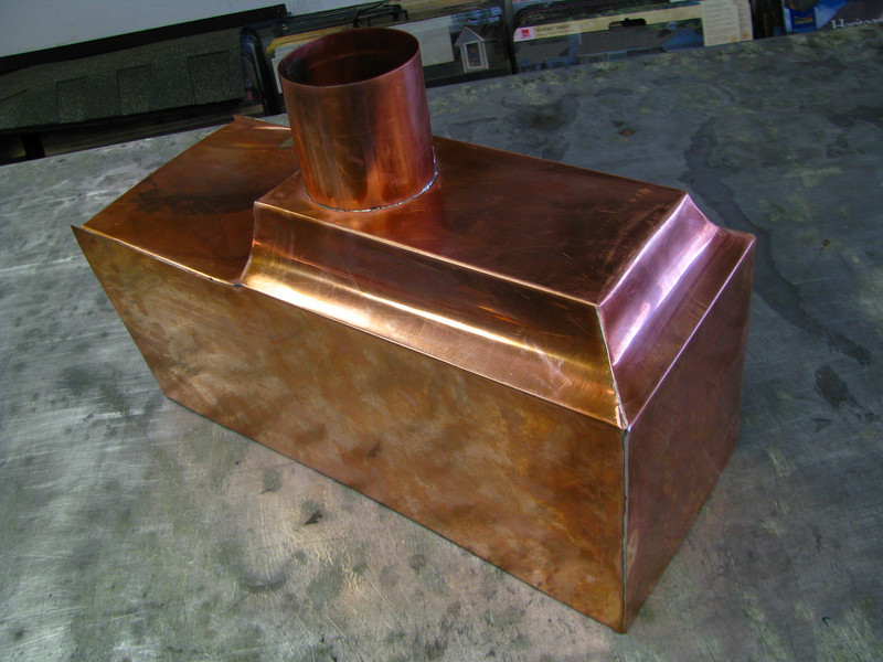 COPPER RAIN COLLECTION SCUPPER