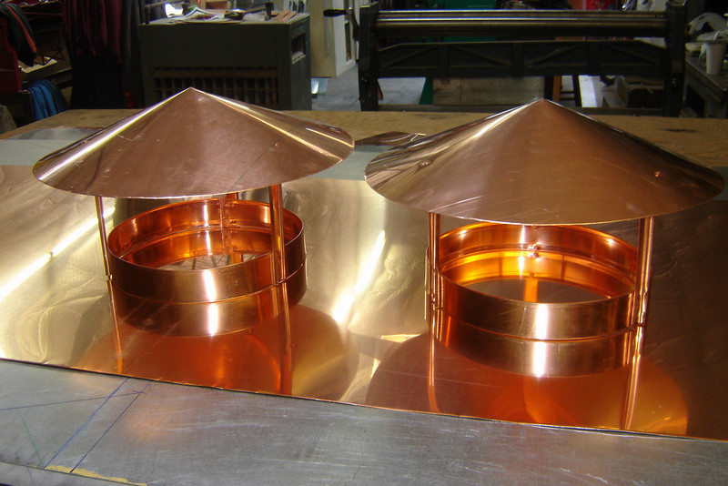 COPPER CHIMENEYCAPS