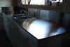 STAINLESS STEEL COUNTERTOP with BACKSPLASH  - with Randy William Cisneros