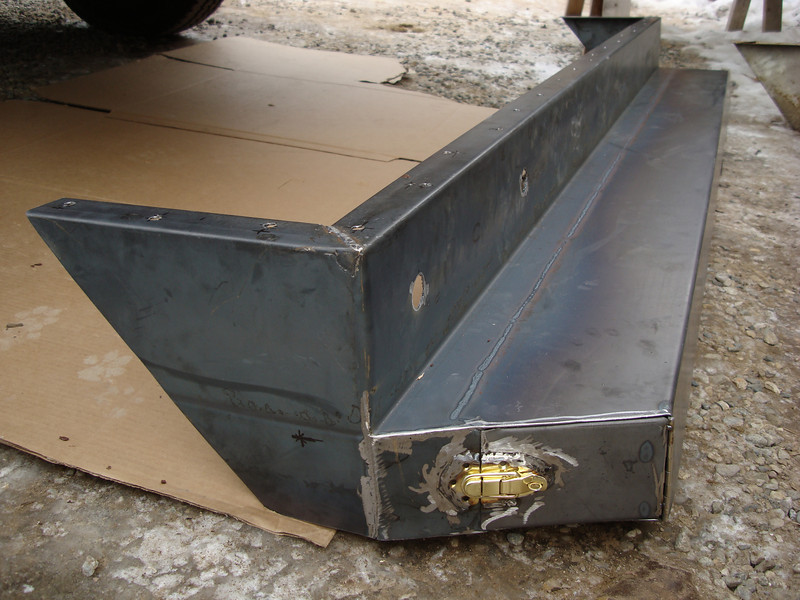 STEEL REAR BUMPER FOR RV - with Randy William Cisneros