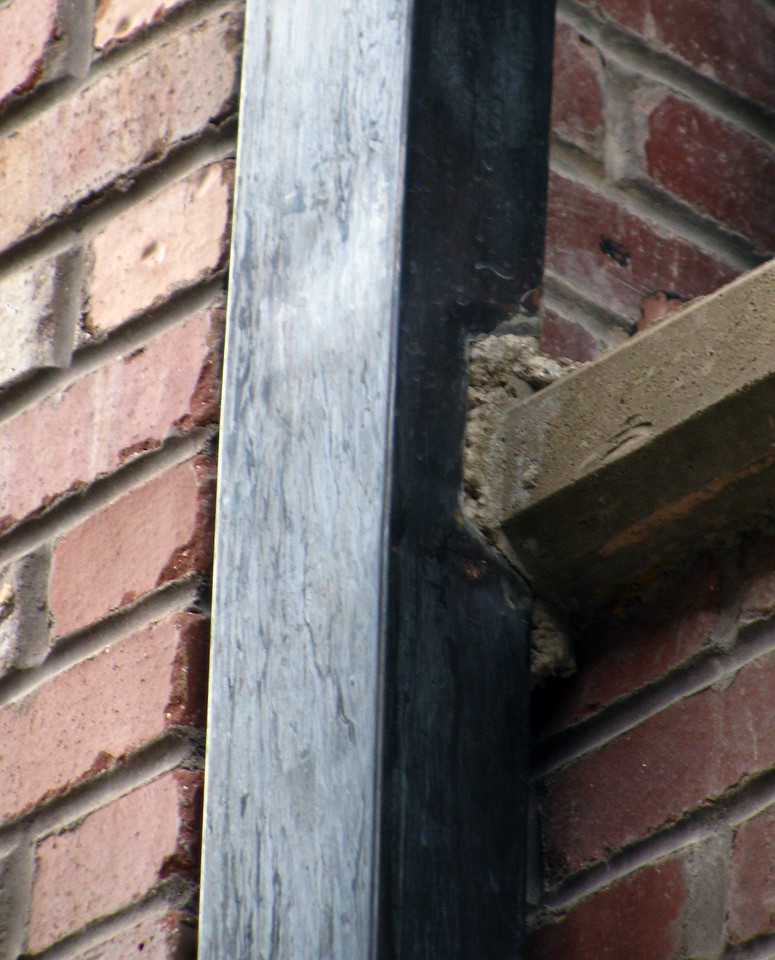 PATINAD DOWNSPOUT DETAIL