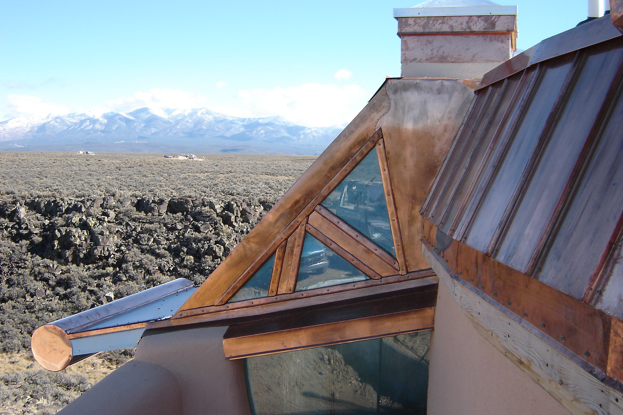 ANGELS NEST - a building covered with COPPER - with Randy William Cisneros