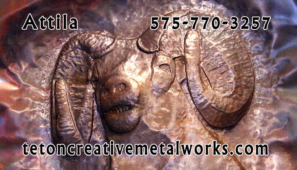 Creative Metal Works Business Card